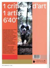 Le prix de la critique d'art AICA 2020 - 4ème de couverture - Format classique