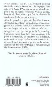 Piege pour catherine t.6 - 4ème de couverture - Format classique