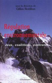 Regulation Environnementale ; Jeux Coalitions Contrats - Intérieur - Format classique