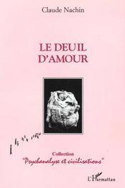 Le deuil d'amour - Intérieur - Format classique