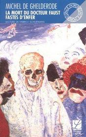La mort du docteur faust ; fastes d'enfer - Intérieur - Format classique
