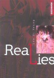 Real lies - Intérieur - Format classique