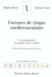 Facteurs de risque cardiovasculaire - Intérieur - Format classique
