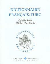 Dictionnaire français-turc - Intérieur - Format classique