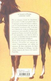 Cheval-roi - 4ème de couverture - Format classique
