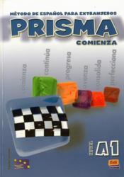 Prisma ; comienza ; alumno, nivel A1 - Couverture - Format classique
