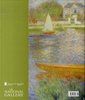 Les paysages de renoir, 1865-1883 - 4ème de couverture - Format classique