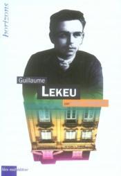 Guillaume Lekeu - Couverture - Format classique
