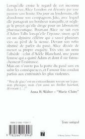 Feu De Glace - 4ème de couverture - Format classique