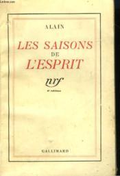 Les Saisons De L'Esprit. - Couverture - Format classique