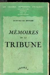 Memoires De La Tribune - Couverture - Format classique