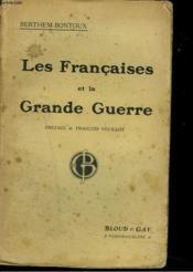 Les Francaises Et La Grande Guerre - Couverture - Format classique