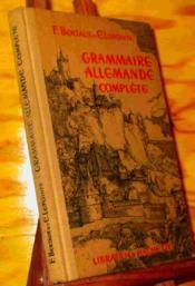 Grammaire Allemande Complete - Couverture - Format classique