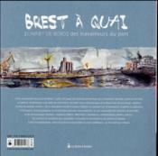Brest à quai ; carnet de bord des travailleurs du port - 4ème de couverture - Format classique