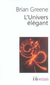 L'univers elegant - Couverture - Format classique