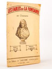 Les Fables de La Fontaine , en chansons - Couverture - Format classique