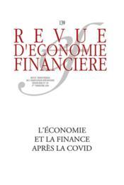 Revue d'économie financière ; l'économie et la finance après la Covid - Couverture - Format classique