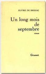 Un long mois de septembre - Couverture - Format classique