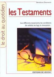 Testaments (Les) - Intérieur - Format classique