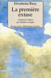 La première extase - Couverture - Format classique