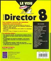 Le Visu Mac-Pc Director 8 - 4ème de couverture - Format classique