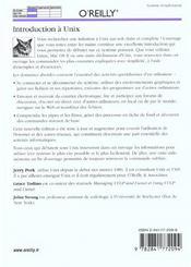 Introduction A Unix - 4ème de couverture - Format classique