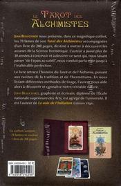 Le tarot des alchimistes - 4ème de couverture - Format classique