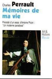 Mémoires de ma vie - Couverture - Format classique