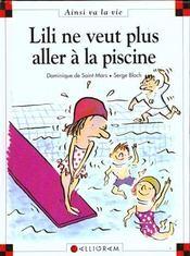 Lili ne veut plus aller à la piscine - Intérieur - Format classique