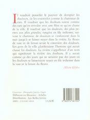 Silence De Chacun (Le) - 4ème de couverture - Format classique