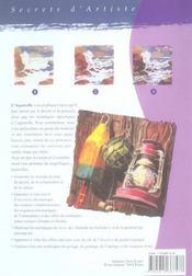 L' aquarelle - 4ème de couverture - Format classique