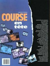 Course En Tete - 4ème de couverture - Format classique