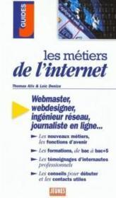 Les Metiers T.274 ; Internet - Couverture - Format classique