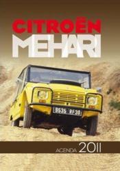 L'agenda passion Citroën Mehari 2011 - Couverture - Format classique