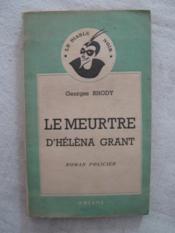 Le meurtre d'Héléna Grant - Couverture - Format classique