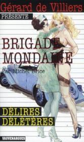 Brigade mondaine t.320 ; délires délétères - Couverture - Format classique