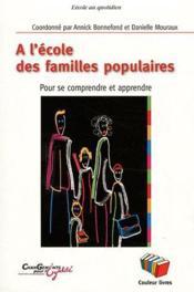 A L'Ecole Des Familles Populaires - Couverture - Format classique
