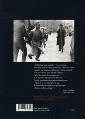 Joseph Goebbels ; journal, 1923-1933 - 4ème de couverture - Format classique