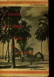 A Travers Les Deserts D'Eau Et De Corail - Couverture - Format classique