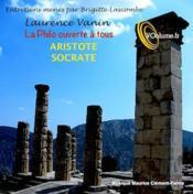 La philo ouverte à tous : Aristote et Socrate - Couverture - Format classique
