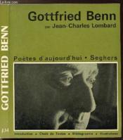 Gottfried Benn - Collection Poetes D'Aujourd'Hui N°134 - Couverture - Format classique