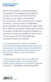 Le yoga mental - 4ème de couverture - Format classique
