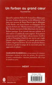 Tourmentes T.3 ; un forban au grand cœur - 4ème de couverture - Format classique