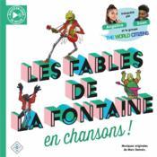 Les fables de La Fontaine en chansons ! - Couverture - Format classique