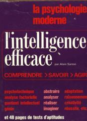 La psychologie moderne. L'intelligence efficace - Couverture - Format classique