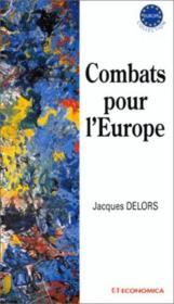 Combats pour l'Europe - Couverture - Format classique