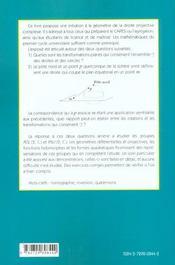 Groupe Circulaire Rotations Et Quaternions Capes Et Agregation De Mathematiques - 4ème de couverture - Format classique