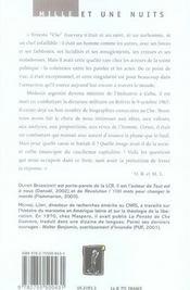 Che Guevara. Une Braise Qui Brule Encore - 4ème de couverture - Format classique