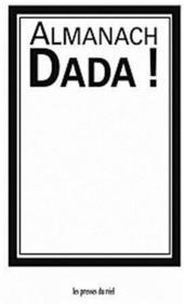 Almanach dada - Couverture - Format classique