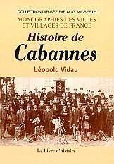 Cabannes (Histoire De) - Couverture - Format classique